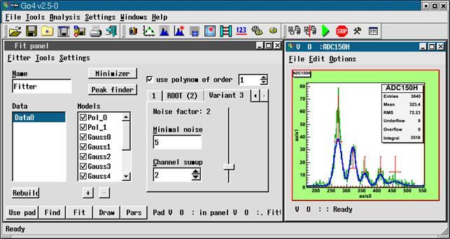 The Go4 Analysis Framework